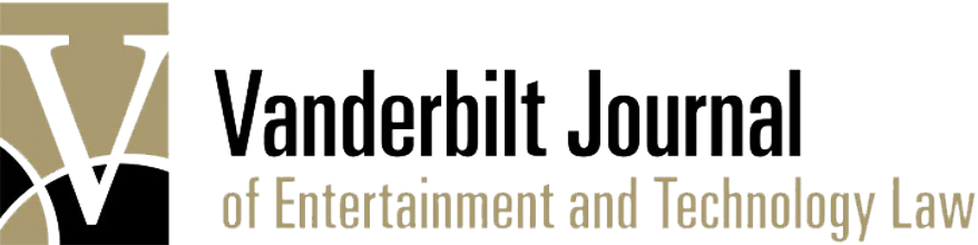 Vanderbilt Journal of Entertainment & Technology Law